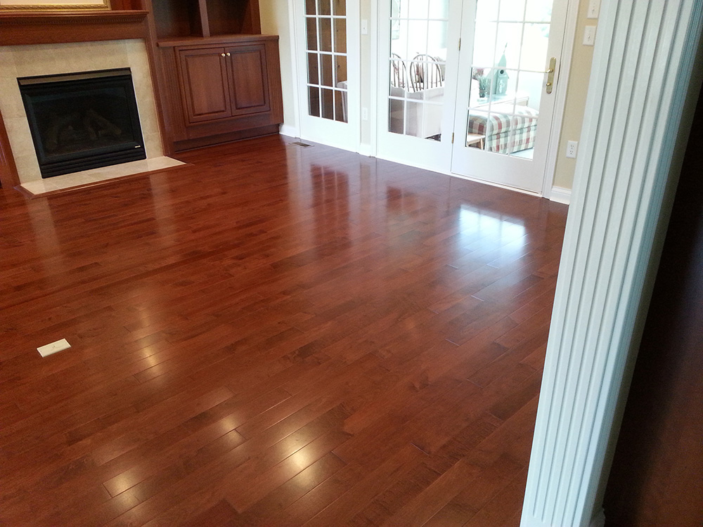 Engineered Hardwood Flooring Installation